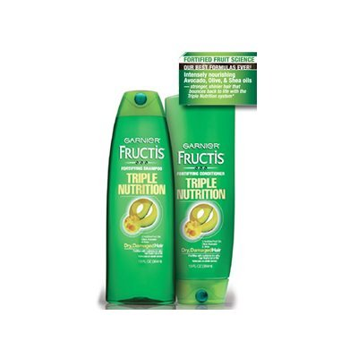 Garnier Fructis Triple Nutrition Shampoo + Conditioner