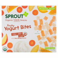 Sprout Orange Carrot Yogurt Fruity Yogurt Bites Organic Toddler Snacks