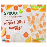 Sprout Orange Carrot Yogurt Fruity Yogurt Bites Organic Toddler Snacks