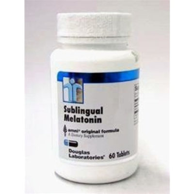 Douglas Labs - Melatonin Sublingual 1 Mg 60 Tab