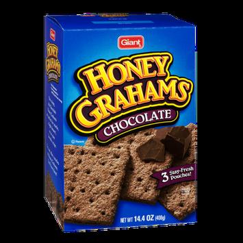 Giant Chocolate Honey Grahams