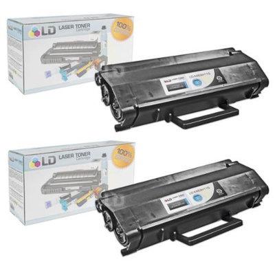 LD © Compatible Lexmark X463H11G Set of 2 High Yield Black Laser Toner Cartridges