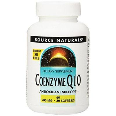 Source Naturals CO-Q10 Tablets,30+30 Softgels