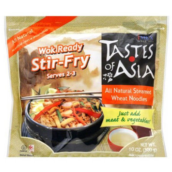 Tastes of Asia All Natural Steamed Wheat Noodles, 10 oz, (Pack of 6)