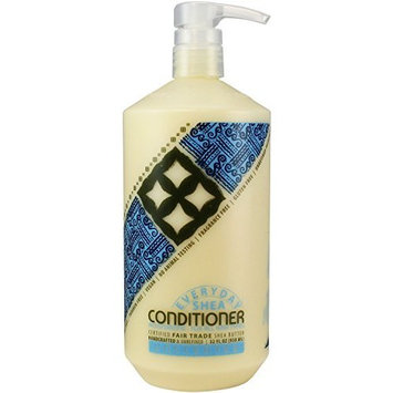 Alaffia- EveryDay Shea- Moisturizing Shea Butter Conditioner, Unscented-32 oz (FFP)