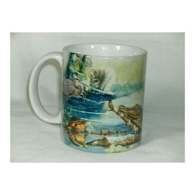 Southern Wetlands Wildlife Ceramic 11 Ounce Coffee Mug