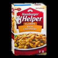 Betty Crocker Hamburger Helper Classic Bacon Cheeseburger