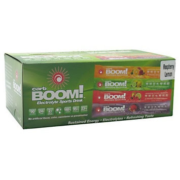 Carb-BOOM Carb Boom! Electrolyte Sports Drink 20 Packets Raspberry Lemon Sport Performance
