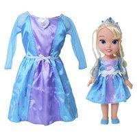 Disney Frozen Elsa Toddler Doll & Dress Combo