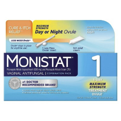 Monistat 1 1-Day Treatment Day or Night Combination Pack