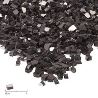 Real Flame Fire Glass-20 lb. Black Reflective Chips