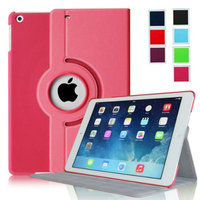 Fintie Ultra Slim 360 Degree Rotating Case Cover with Hard Shell for Apple iPad Air (iPad 5), Magenta