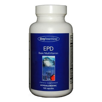 Allergy Research Group - EPD Basic MultiVitamin 150 vcaps Health and Beauty