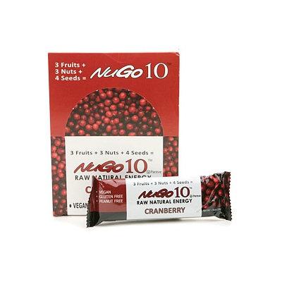 NuGo 10 Raw Natural Energy Bars