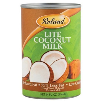 Roland Lite Coconut Milk, 14-Ounce (Pack of 24)