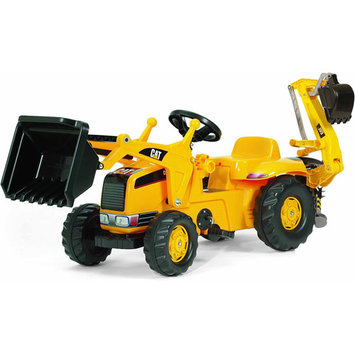 Kettler CAT Kid Tractor with Backhoe