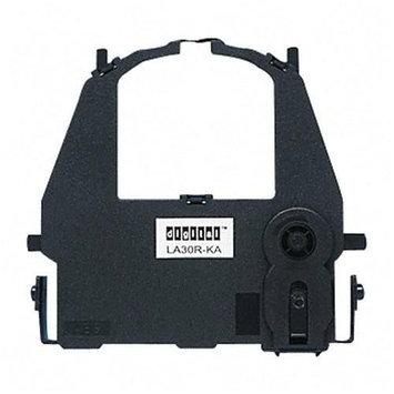 Tallygenicom LA30R-KA Ribbon Cartridge - Black - Dot Matrix - 1 Box