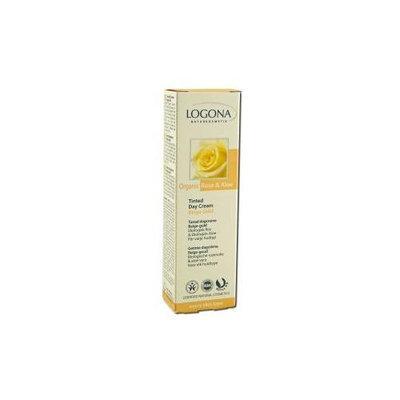 Logona Natural Cosmetics Tinted Day Cream Organic Rose & Aloe Beige Gold - Logona - 30ml - Cream