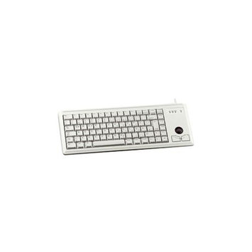 Cherry Healthcare Cherry Ultraslim G84-4420 Keyboard - Wired - Light Gray