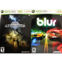 Blur and Infinite Undiscovery 2Pack