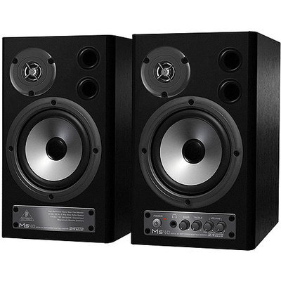 Behringer MS40 Studio Monitor Speakers with D/A Converter