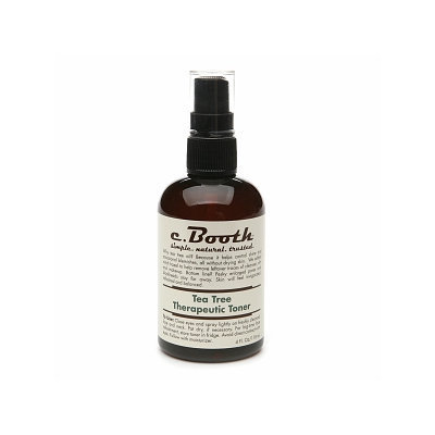 c. Booth Tea Tree Therapeutic Toner
