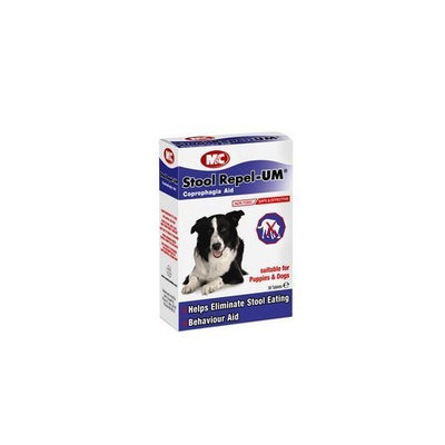 M And C Repel-Um M&C Stool Deters Stool Eating For Dogs & Puppies (30 Tablets)