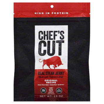 Chef's Cut JERKY, STEAK, ORIGINAL, (Pack of 8)