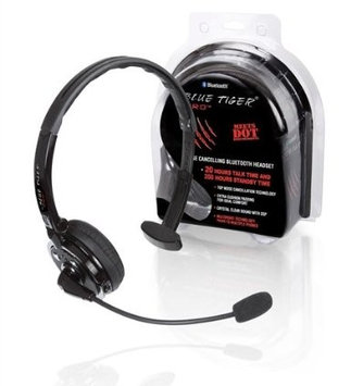 Blue Tiger Pro Extreme Noise Cancellation Bluetooth Headset