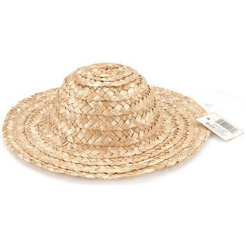 Darice 1236 Round Top Straw Hat 18