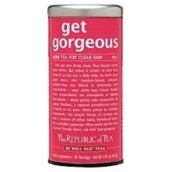 The Republic of Tea Get Gorgeous Tea, 36-Count