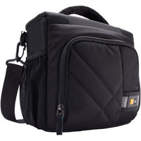 Case Logic Camera Bag with Adjustable Shoulder Strap - Black (CPL-106)