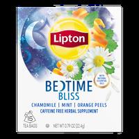Lipton® Bedtime Bliss Herbal Supplement