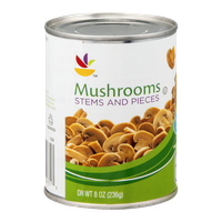 Ahold Mushrooms Stems and Pieces