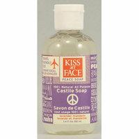 Kiss My Face Corp. Kiss My Face Castile Peace Soap Lavender Mandarin 3.4 fl oz Case of 12