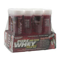Champion Nutrition Pure Whey Shot 45, Berry Punch 12 - 3 fl oz (88 mL) Containers