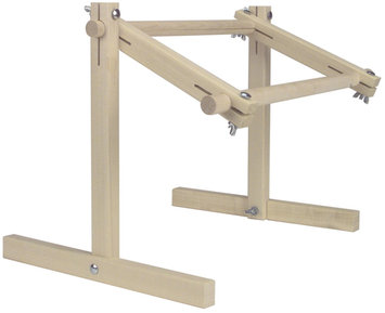 Kahoot 71685 Deluxe Hardwood Scroll Frame Lap Stand