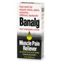 Banalg Muscle Pain Reliever 2 fl oz (60 ml)