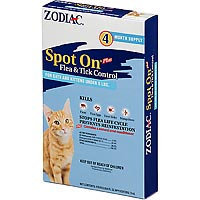 Farnam Pet - Zodiac Spot On Plus For Cats Under 5 No. -4pack