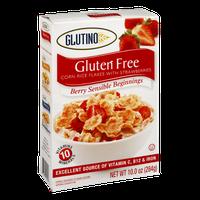 Glutino Gluten Free Berry Sensible Beginnings Corn Rice Flakes with Strawberries