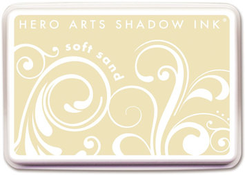 Crown Marking Equipment Co. Hero Arts Shadow Inks-Soft Sand