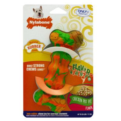 Nylabone Flavor Frenzy Chicken Pot Pie Dog Toy
