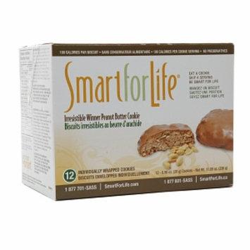 Smart for Life 100 Calorie Cookies, Peanut Butter, 12 ea