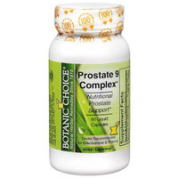 Botanic Choice Prostate 9 Complex Herbal Supplement Liquid Capsules