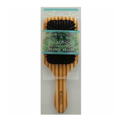 Earth Therapeutics Large Bamboo Natural Bristle Paddle Brush 1 Brush