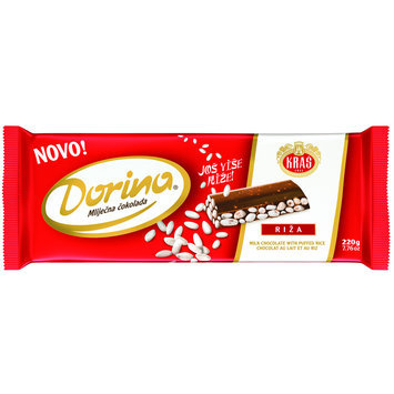 Dorina Puffed Rice Chocolate Bar