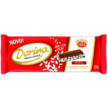 Dorina Puffed Rice Chocolate Bar