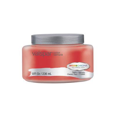 Valspar Classic Red Interior Satin Paint Sample (Actual Net Contents: 8 Fluid Oz.) 007.0772890.003