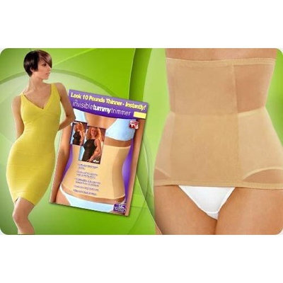 Invisible Tummy Trimmer-small-black