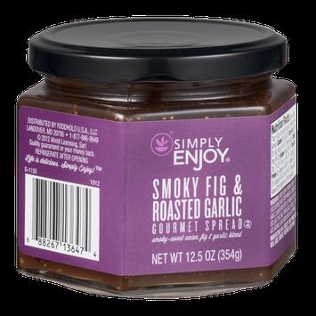 Ahold Simply Enjoy Gourmet Spread Smoky Fig & Roasted Garlic
